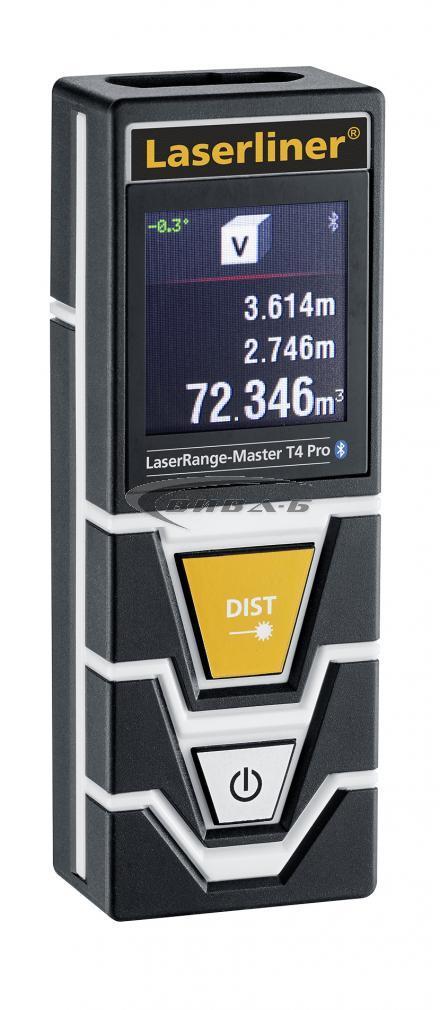 Лазерен далекомер-ролетка Laserliner LaserRange-Master T4 Pro 1