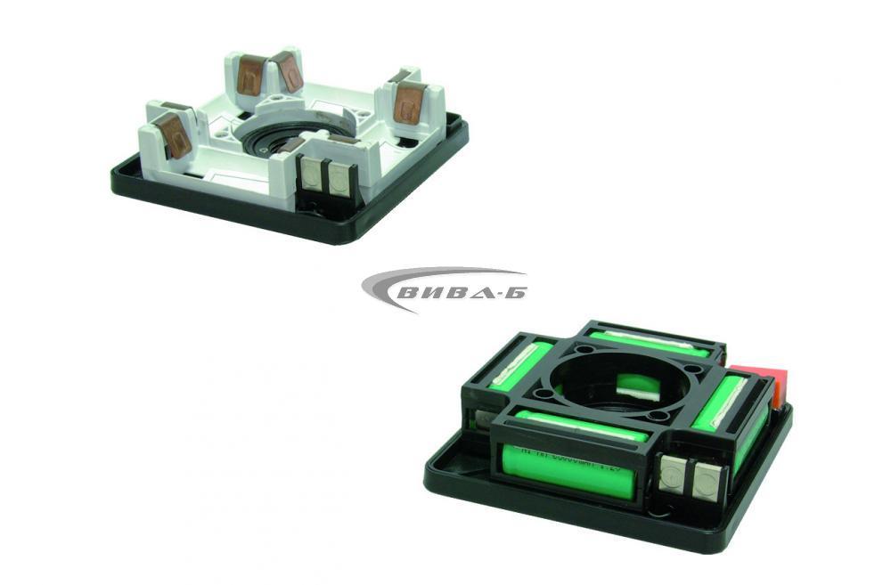 Зелен ротационен лазер Quadrum Green 410 S в комплект с тринога с манивела и  телескопична лата 5 м 7
