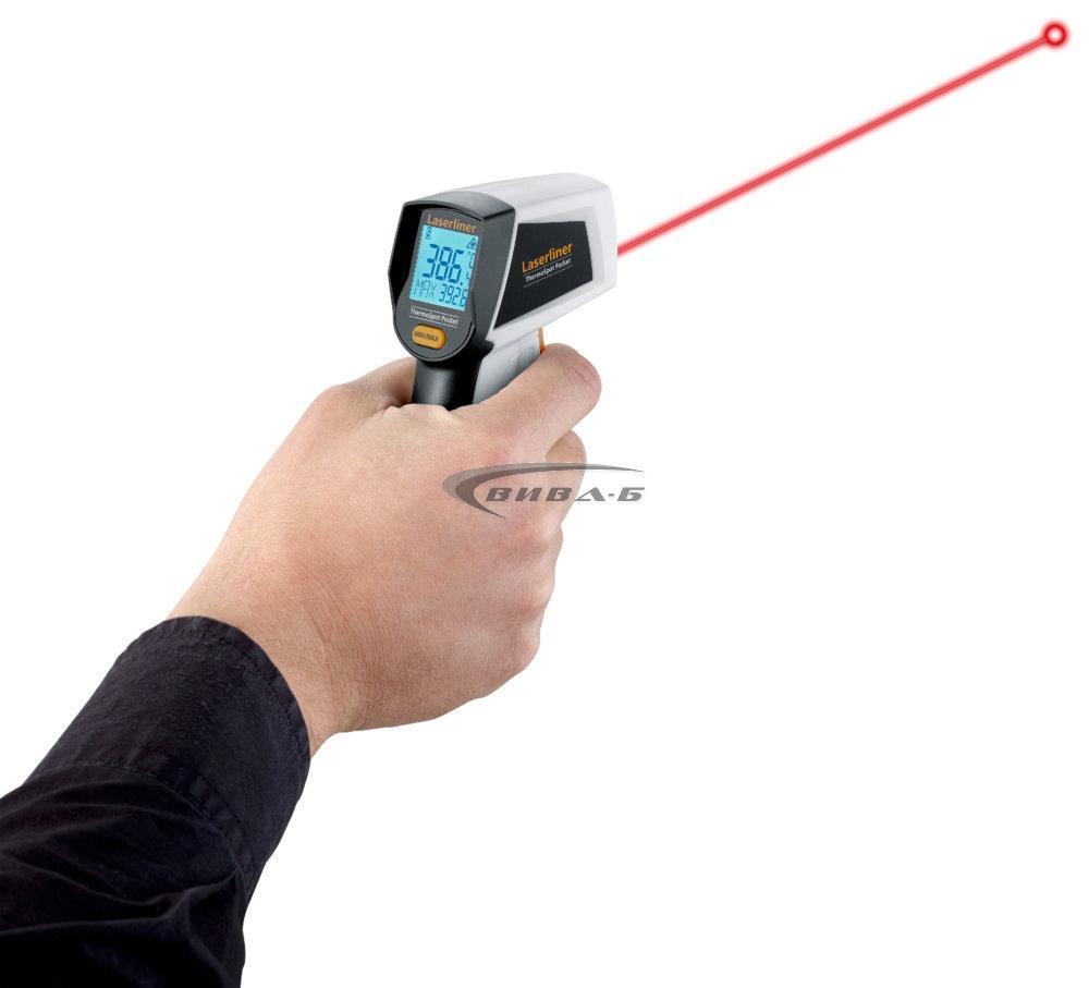 Безконтактен термометър Laserliner ThermoSpot Pocket 3