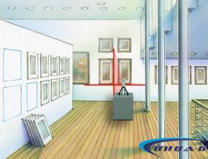 Линеен лазерен нивелир SuperCross-Laser Compact 2