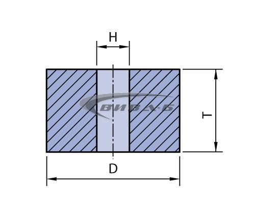 Абразивен диск за леярната индустрия F1 50x32x16 41A24 1
