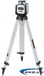 Зелен ротационен лазер Cubus G 210 S в комплект със статив 150 см и телескопична нивелираща лата LT 4м 1