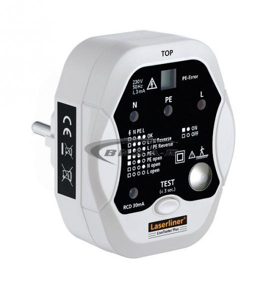 Тестер за електрически инсталации LiveTester Plus