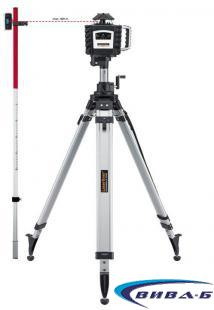 Ротационен лазер Quadrum 410 S + БОНУС тринога и рейка
