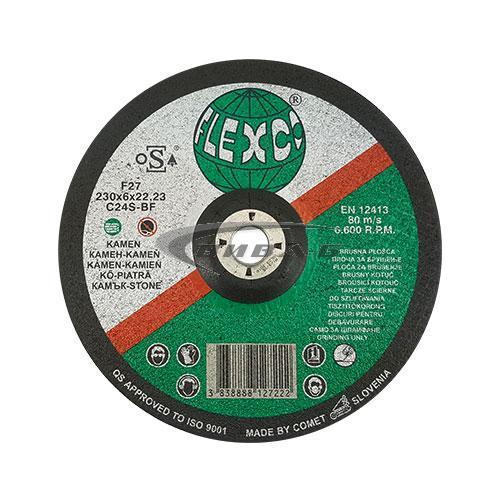Карбофлексов диск за шлайфане на неметал SwatyComet Flexco 230х6х22