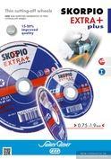 Ултра тънки карбофлексови дискове Skorpio Extra+
