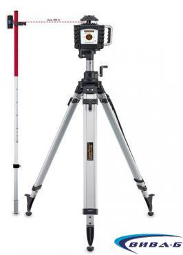 Ротационен лазер Quadrum OneTouch 410 S + БОНУС тринога и рейка