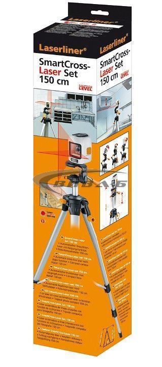 Линеен лазерен нивелир SmartCross-Laser set 150 5