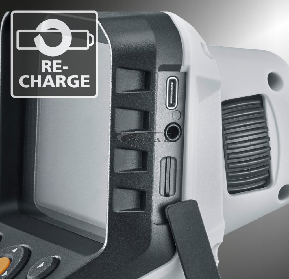 "Видеоконтролер Laserliner VideoFlex G4 Ultra 9мм, 10.0м, 3.5"" + Челник Walther Pro HL17 6"