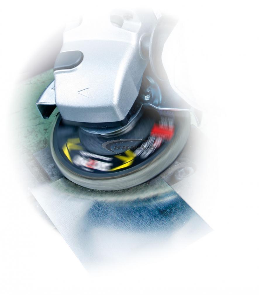Ламелен диск за полиране PolirCO 125 M Р150-220 1