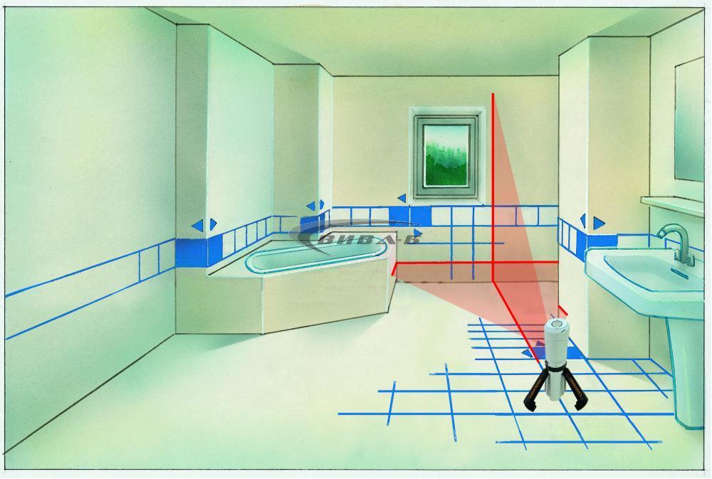 Линеен лазерен нивелир SuperCross-Laser Compact 8