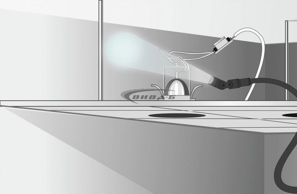 "Видеоконтролер Laserliner VideoFlex G4 Vario 17мм, 1.5м, 3.5"" 5"