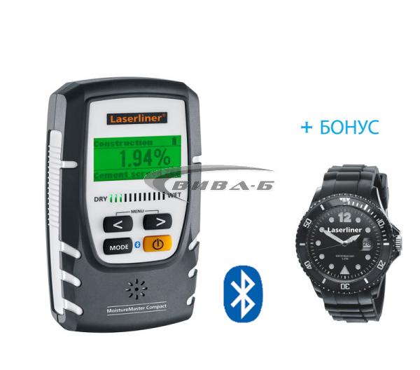 Влагомер MoistureMaster Compact Plus + БОНУС часовник