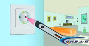 Електронен безконтактен фазомер Laserliner AC-TiveFinder 1