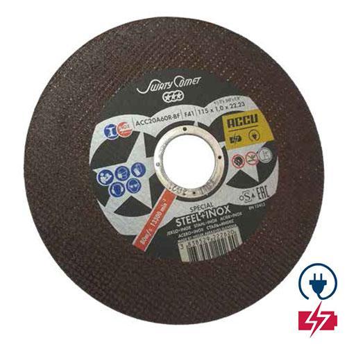 Нова серия карбофлексови дискове от WEILER ABRASIVES за акумулаторен ъглошлайф!