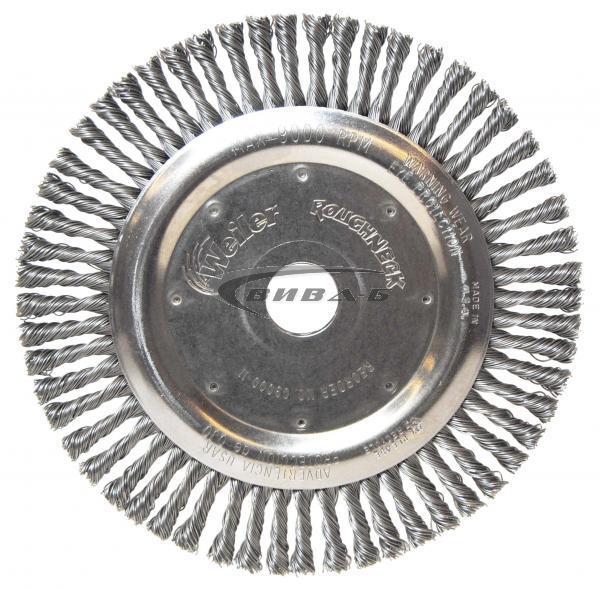 Телена дискова четка за ъглошлайф от усукана стоманена тел 178х6x22.2