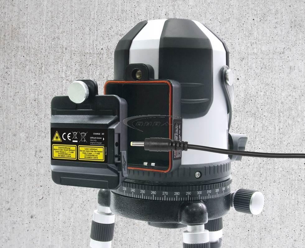 Зелен линеен лазер PowerCross-Laser 5 Combi 2