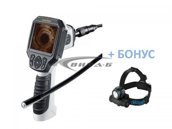 Видеоконтролер Laserliner VideoFlex G3 9 мм 1,5м +БОНУС Walther Pro HL17