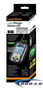 Зелена лазерна ролетка Laserliner LaserRange-Master Gi5 2