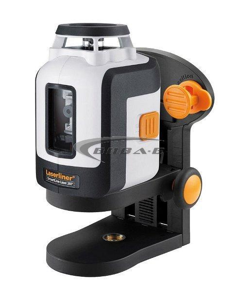 Линеен лазерен нивелир SmartLine-Laser 360° 3