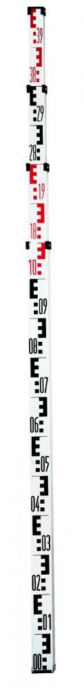 Телескопична нивелирна лата 5 м 1