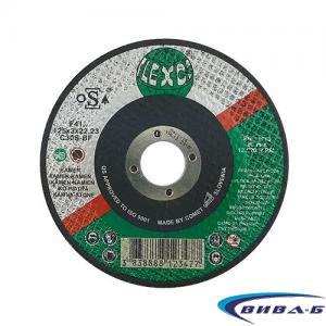 Карбофлексов диск за рязане на неметал SwatyComet Flexco 125х3х22