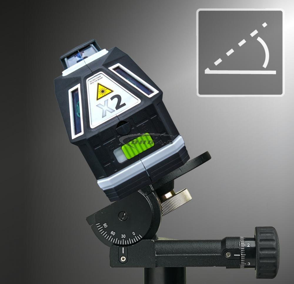 Зелен линеен лазер X2-Laser 4
