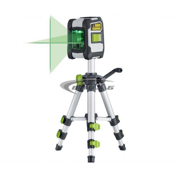 Зелен линеен лазерен нивелир CompactCross-Laser Pro Set