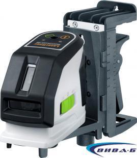 Зелен линеен лазер MasterCross-Laser 2GP в комплект с бързозарядно устройство 8