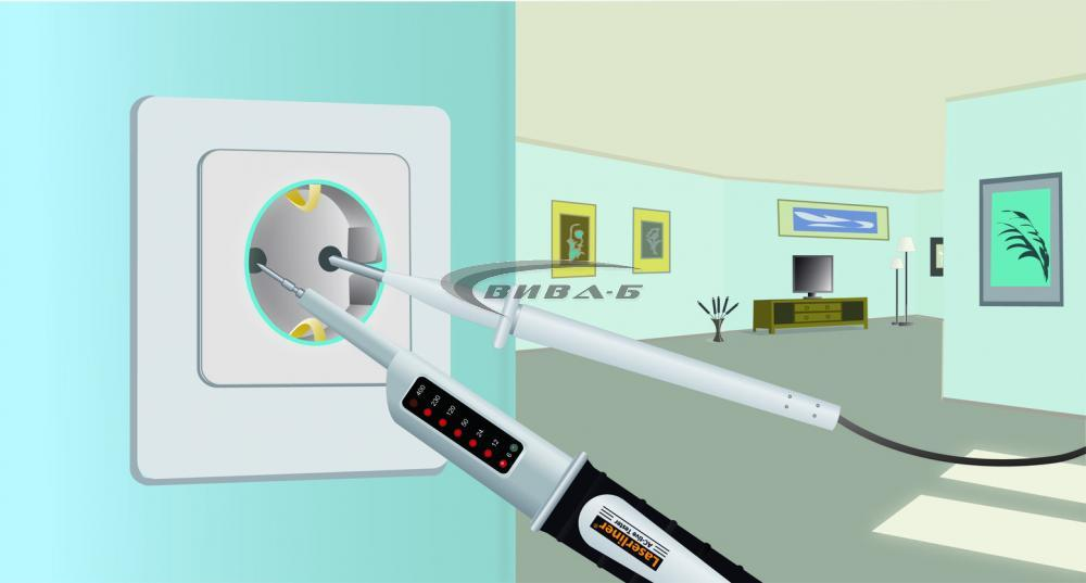 Електронен волтметър Laserliner AC-TiveTester 1