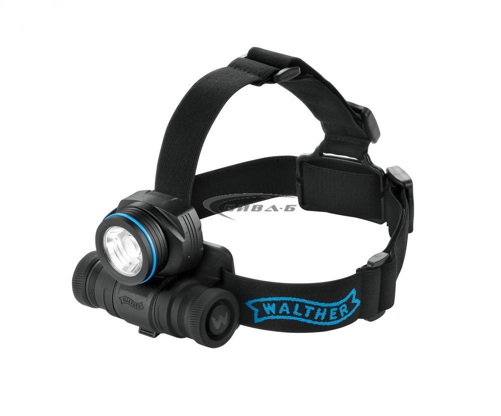 "Видеоконтролер Laserliner VideoFlex G4 Ultra 9мм, 10.0м, 3.5"" + Челник Walther Pro HL17 1"