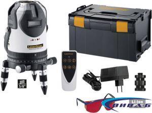Линеен лазер PowerCross-Laser 8 S + ПОДАРЪК Мултиметър MultiMeter-PocketBox 1