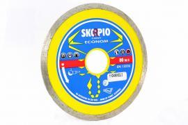 Диамантен диск за рязане на фаянс Econom Conti 125