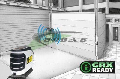 Зелен линеен лазер MasterCross-Laser 2GP в комплект с бързозарядно устройство 6