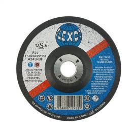 Карбофлексов диск за шлайфане на метал SwatyComet Flexco 150х6х22