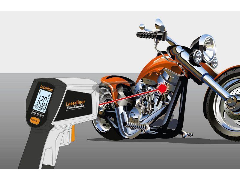 Безконтактен термометър Laserliner ThermoSpot Pocket 4