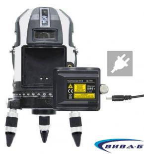 Линеен лазер PowerCross-Laser 8 S + ПОДАРЪК Мултиметър MultiMeter-PocketBox 5