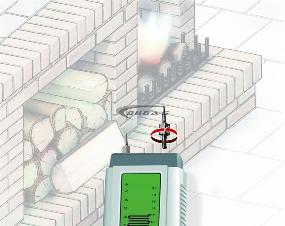 Измервателни шипове / електроди за влагомери Laserliner 1