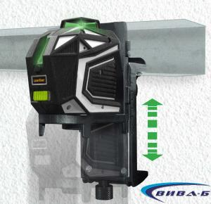 Зелен линеен лазер X1-Laser комплект с тринога FixPod 155 cm 6