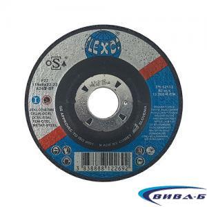 Карбофлексов диск за шлайфане на метал SwatyComet Flexco 115х6х22