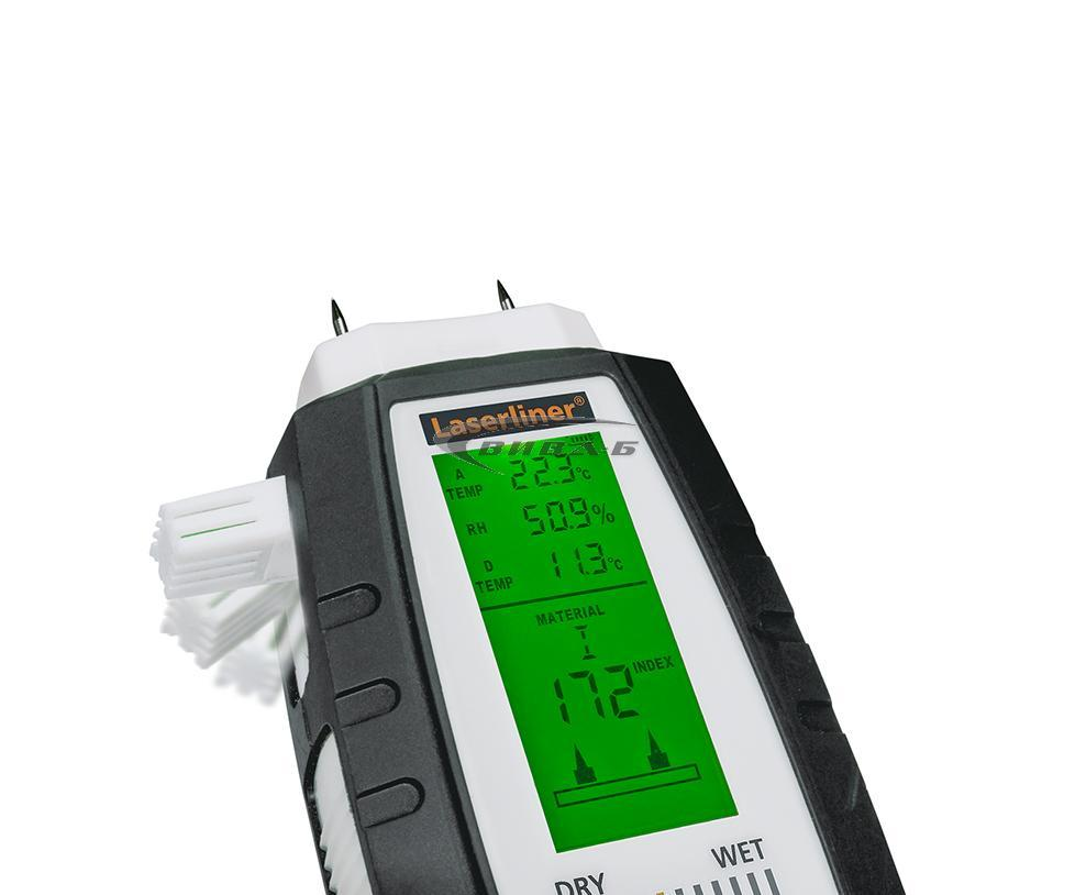 Влагомер Laserliner MultiWet-Master Compact Plus  082.390A 4