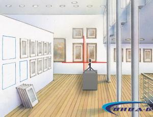 Линеен лазерен нивелир SmartCross-Laser set 150 2