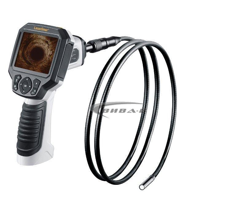 Видеоконтролер Laserliner VideoFlex G3 9 мм 1,5м +БОНУС Walther Pro HL17 4