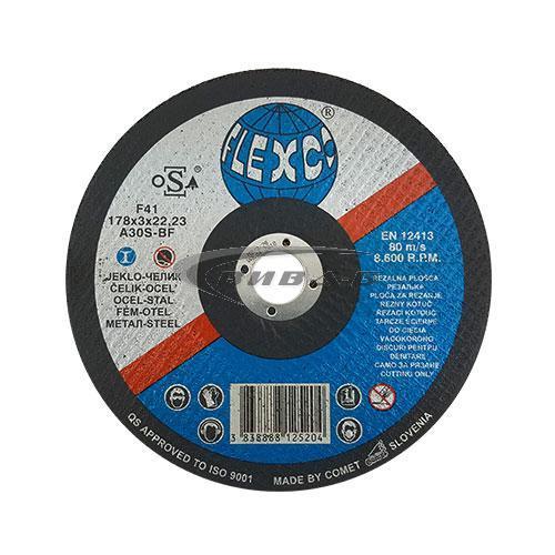 Карбофлексов диск за рязане на метал SwatyComet Flexco 178х3х22