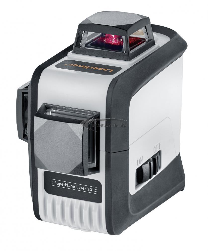 Линеен лазер SuperPlane-Laser 3D + БОНУС тринога FixPod 155 см 5