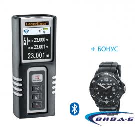 Лазерен далекомер-ролетка Laserliner DistanceMaster Compact Pro + часовник