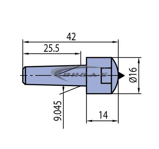 Диамантен изравнител Morse MK0-G K104 2.50kt