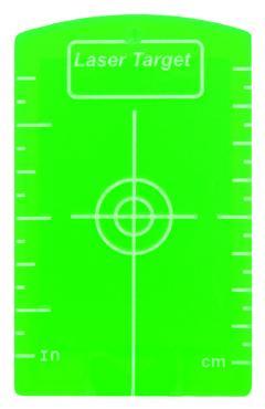 Магнитна мишена-плочка зелена