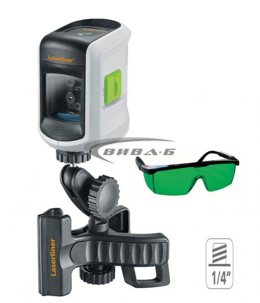 Зелен линеен лазерен нивелир SmartVision-Laser Plus