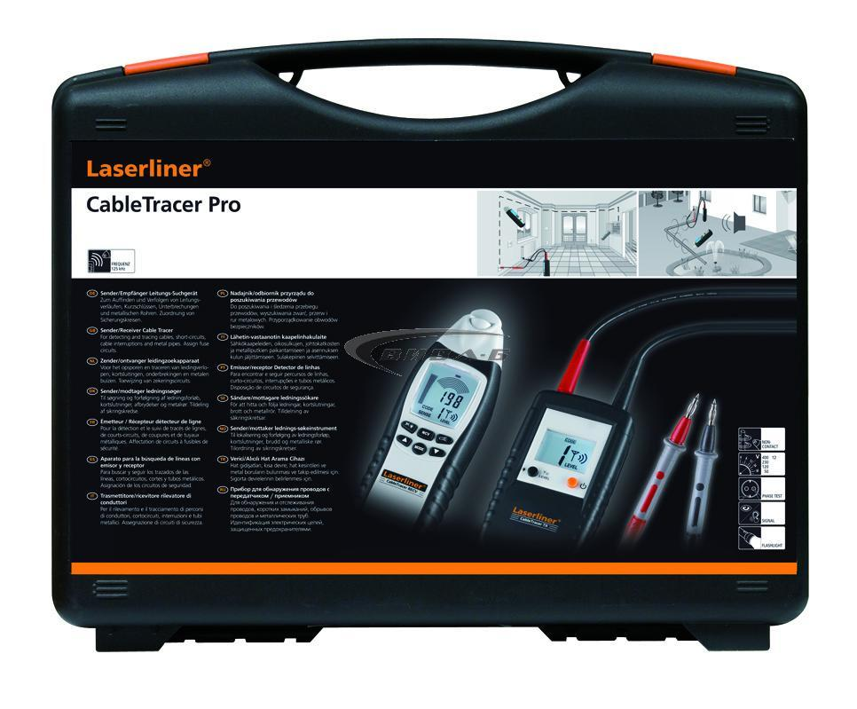 Кабелен детектор Laserliner CableTracer Pro 10